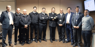 Visit of the Italian Navy to the OCEAN2020 Development LAB