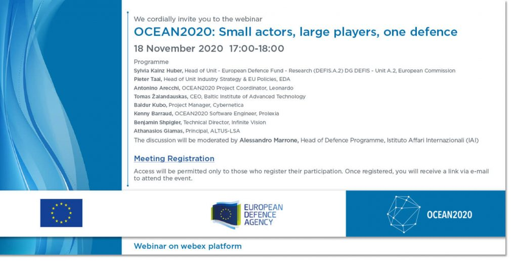 OCEAN2020 – Small actors, large players, one defence