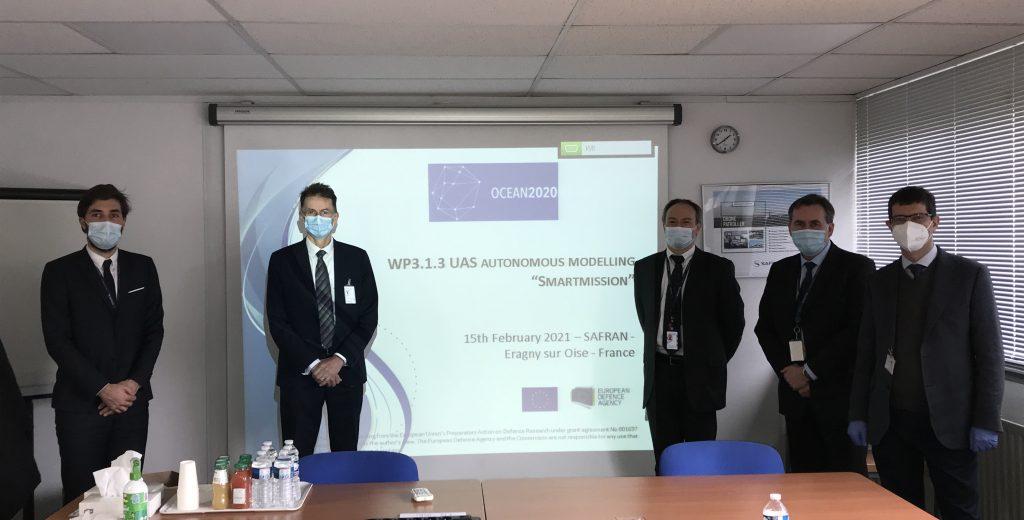 OCEAN2020 innovations : autonomous maritime UAV mission demonstrated at Safran premises!
