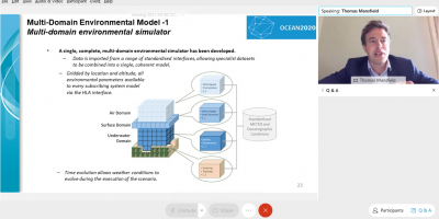 Modelling & Simulation activities in the frame of OCEAN2020 – the webinar