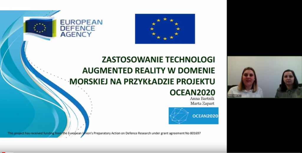 OBR CTM at the NATCON conference: Augmented Reality in OCEAN2020