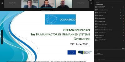OCEAN2020 Webinar: Human Factor in Unmanned Systems Operations