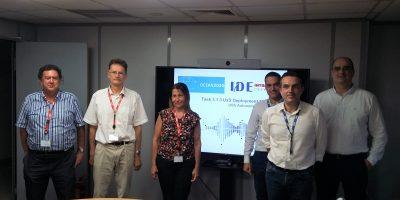OCEAN2020: USS Autonomous behaviour model demonstrated at Intracom Defense (IDE) premises